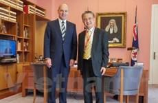 澳大利亚高度评价越澳两国国会合作