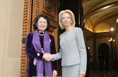 拉脱维亚希望与越南加强多方面的合作