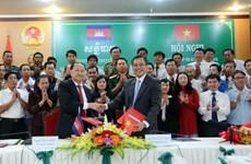 越南坚江省与柬埔寨西哈努克省加强合作