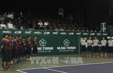 2017年越南兴盛国际网球公开赛昨晚在胡志明市开赛