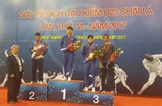 2017年亚洲击剑锦标赛开战  武文雄摘银