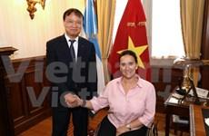 阿根廷副总统:越南是阿根廷贸易投资最为重要的伙伴之一