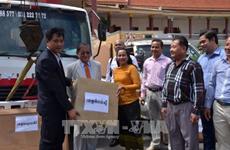 柬埔寨接收越南政府援助柬埔寨信息部的调频发射机
