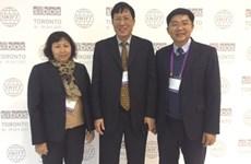 越南证券托管中心干部代表团参加2017年国际银行家营运研讨会