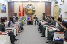越南与美国和澳大利亚加强联合国维和领域合作