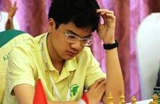 2017年青少年国际象棋锦标赛:阮英魁二度夺金