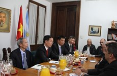 越南共产党代表团对阿根廷进行工作访问