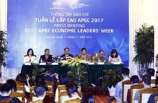 越南外交部就2017年APEC领导人会议周对外发布新闻公告