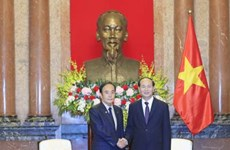 国家主席陈大光:企业界为推动越日合作关系迈上新台阶作出重要贡献