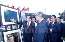 越老举行书籍、图片、报刊展  庆祝两国建交55周年