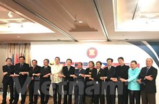 东盟各国驻韩大使馆举行东盟建立50周年纪念典礼