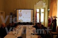 有关胡志明主席的研讨会和图片展在罗马尼亚举行