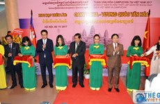 """""""柬埔寨—文化王国""""展览会在河内举行"""
