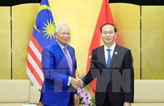 APEC2017:越南国家主席陈大光会见马来西亚总理纳吉布
