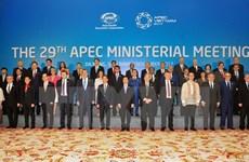 2017年APEC会议:部长级会议通过《联合声明》