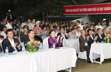 国会主席阮氏金银等国家领导出席各地举行的全民大团结日活动