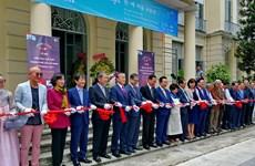 越韩美术交流展在胡志明市开展
