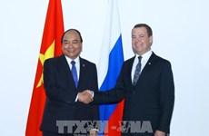 第31届东盟峰会:阮春福分别会见梅德韦杰夫和杜特尔特