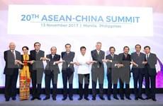 越南政府总理阮春福出席东盟与各对话伙伴领导人会议