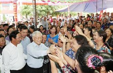 越共中央总书记阮富仲出席海防市全民族大团结日庆祝活动