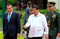 菲律宾与中国签署14项合作协议