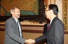 胡志明市与国际金融公司加强合作