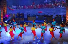 第七届南部高棉族同胞文化体育旅游节正式闭幕