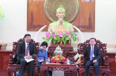 芹苴市希望促进与印度在农业和教育领域的合作