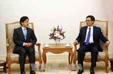 政府副总理武德儋会见韩国学者代表团