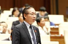 越南十四届国会第四次会议讨论《反腐败法修正案(草案)》