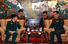 越中青年军官合作取得丰硕成果