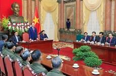 越南党和国家永远铭记老挝人民的功劳