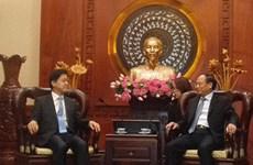 胡志明市与韩国促进民间交流
