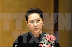 越南国会主席阮氏金银启程对新加坡和澳大利亚两国进行正式访问