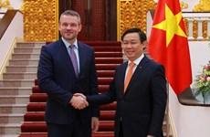 越南与斯洛伐克促进贸易投资合作