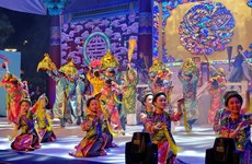 2017年胡志明市—庆州市世界文化节参加活动人数超过300万