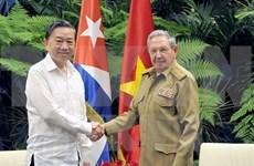 越南公安部与古巴内务部加强双边合作