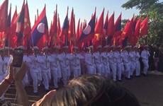 老挝国庆42周年:本扬·沃拉吉会见各国外交使团