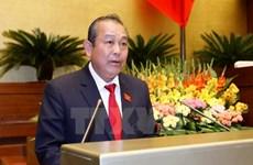 政府常务副总理张和平:严惩暴力侵害、虐待儿童等行为