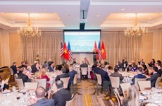 越美全面伙伴关系获得成功的一年庆祝活动在华盛顿举行