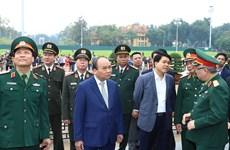 阮春福高度评价胡志明主席陵管委会的工作成绩