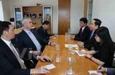 越南祖国阵线中央委员会代表团对新西兰进行工作访问