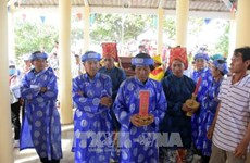 越南海洋岛屿:坚江省求鱼节有助于推广该省海岛文化与潜力