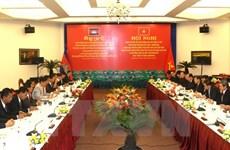 努力加快越柬友谊纪念碑修缮工程的施工进度