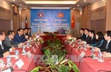 老挝领导高度评价越南通讯社的支持与帮助