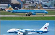 越航与曼谷航空签署代码共享协议