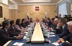 陈国旺率团对俄罗斯进行工作访问