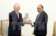 阮春福会见韩国希杰集团主席孙京植