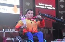 2017年世界残奥举重锦标赛:越南体育代表团夺一金两银