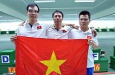 2017年第10届亚洲气枪锦标赛:越南队摘铜